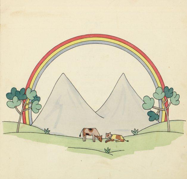 """איור מתוך """"ספר הדברים"""": תום זיידמן-פרויד"""