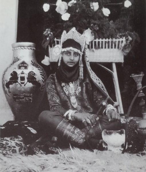 צפורה צברי, אסתר המלכה העברייה השלישית, 1928. צילום: ש' קורבמן, אוסף המוזיאון לתולדות תל-אביב - יפו.