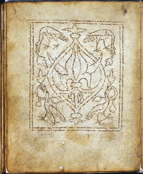 מחזור קטלוניה, ספרד, שנת 1280 בערך. כתב היד שמור בספרייה הלאומית