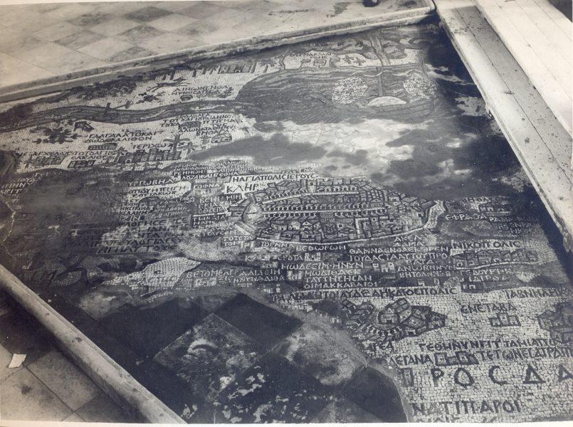 מפת מידבא, שנות ה-20
