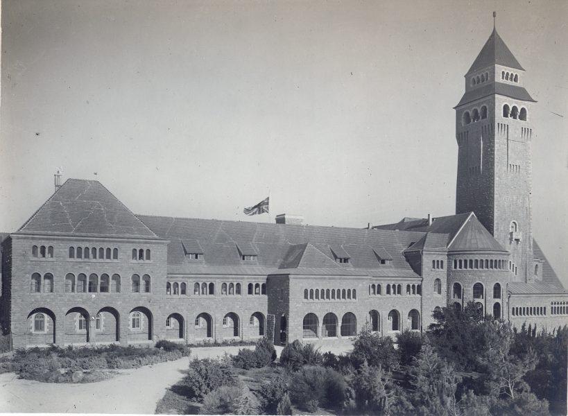 אוגוסטה ויקטוריה (בית הממשל), יולי 1920