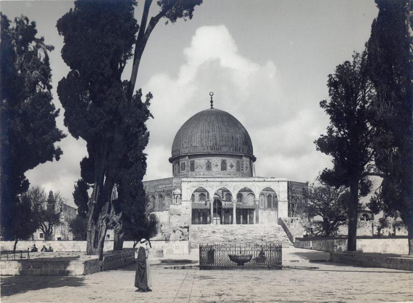 מסגד כיפת הסלע, שנות ה-20