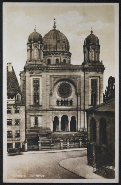 בית הכנסת הגדול בעיר נירנברג, גרמניה. בית כנסת זה, אשר שכן בכיכר הנס-זקס פלאץ בעיר, נבנה בשנת 1874 ונחרב במאורעות ליל הבדולח, בחודש נובמבר 1938, יחד עם בניין הקהילה היהודית שהיה צמוד אליו.