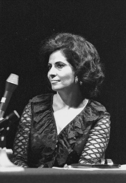 שושנה דמארי, 1968. צילום: דן הדני