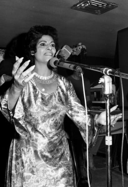 שושנה דמארי, 1971. צילום: אוסף דן הדני