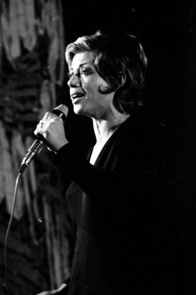 חוה אלברשטיין, 1971. צילום: אוסף דן הדני