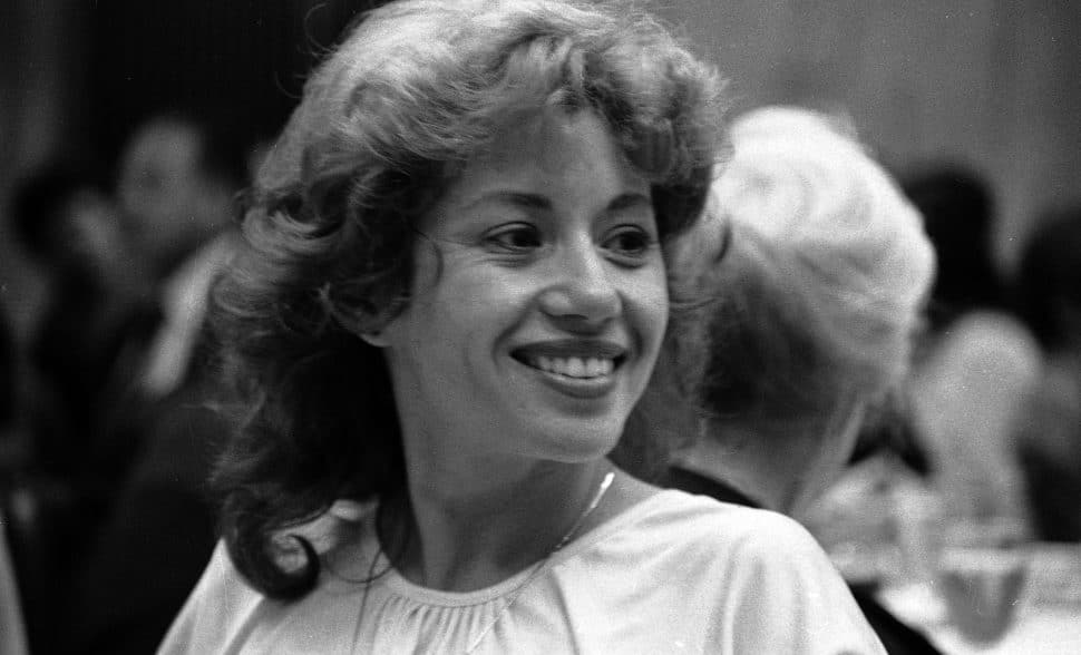 חוה אלברשטיין, 1981. צילום: דן הדני
