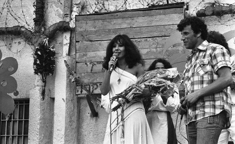 ירדנה ארזי, 1983. צילום: דן הדני
