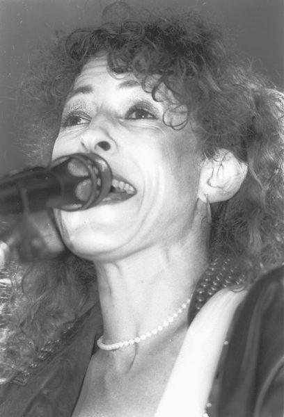 יהודית רביץ, 1987. צילום: יוסי אלון