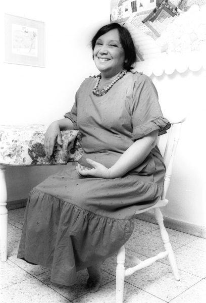 נעמי שמר, 1987. צילום: גל יחיעם