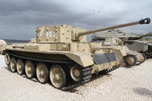 טנק הקרומוול במוזיאון לתולדות חיל השריון
