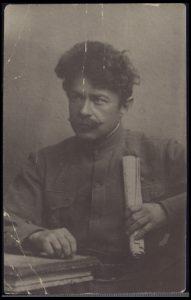 שאול טשרניחובסקי. מתוך אוסף הפורטרטים שבדרון. הספריה הלאומית