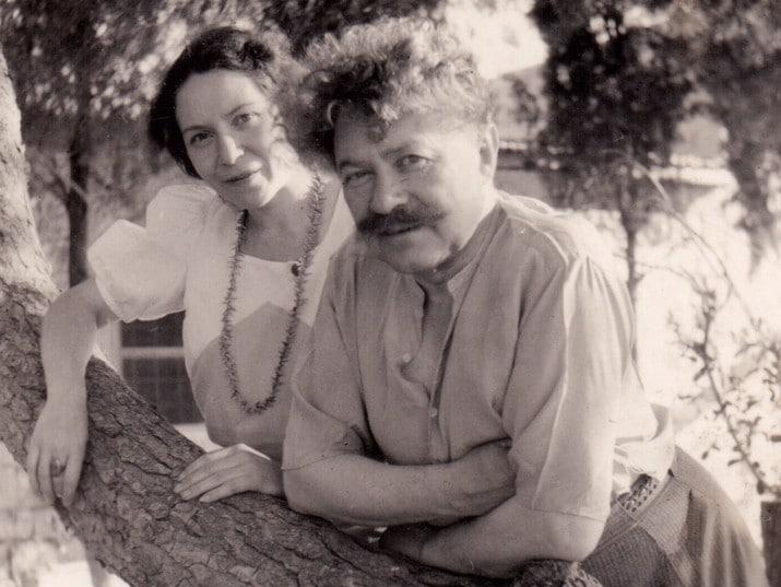 טשרניחובסקי ובתו