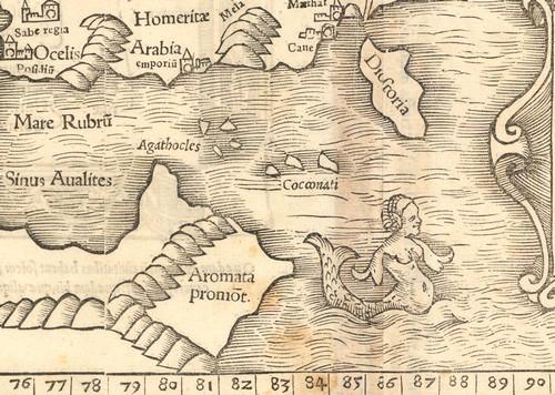 בת הים על המפה
