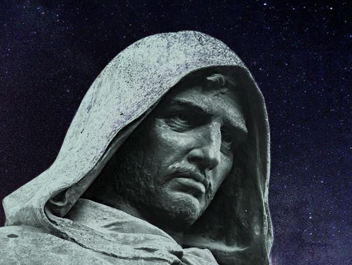פסל בדמותו של ג'ורדנו ברונו