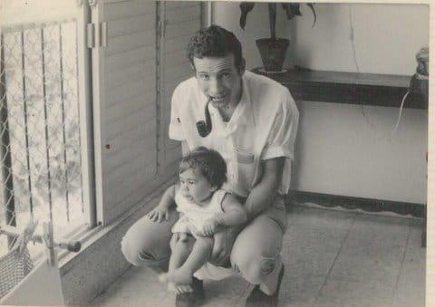 בן רבינוביץ' ובתו רוני
