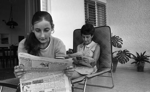 רות בונדי ובתה טל
