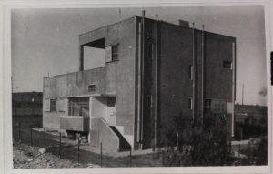 ביתו של עגנון בתלפיות, מתוך אוספי הספריה הלאומית