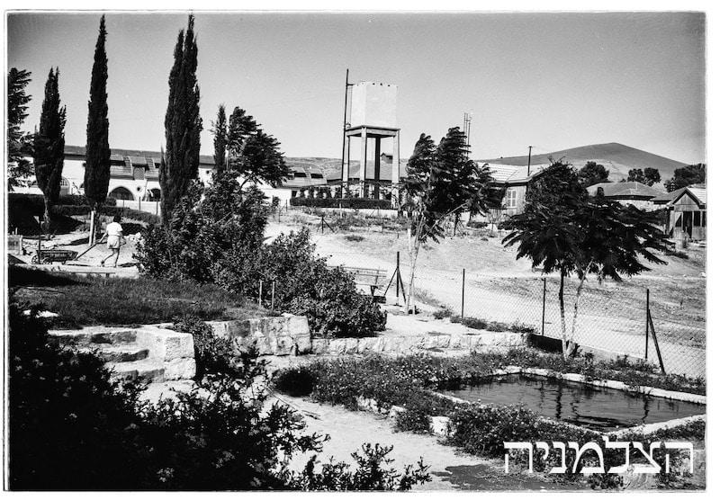 קיבוץ מרחביה בשנת 1939, מתוך אוסף הצלמניה. צלם רודי ויסנשטין