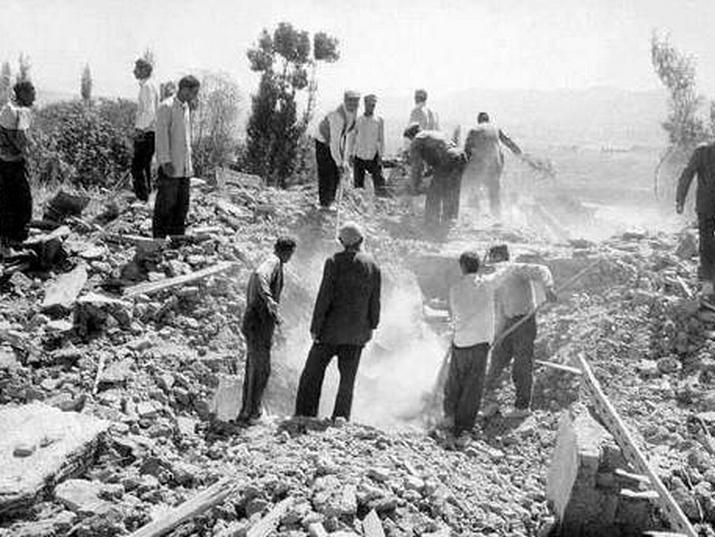 רעידת אדמה באיראן