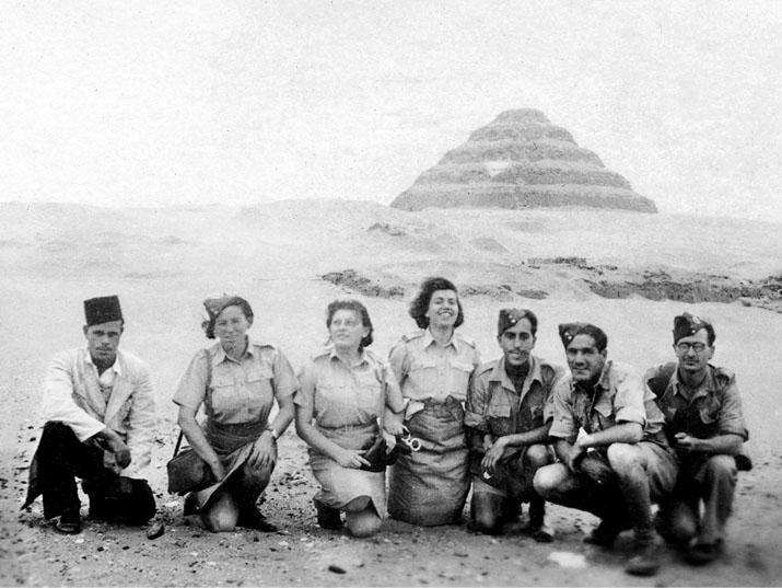 חיילים ארץ ישראליים במצרים