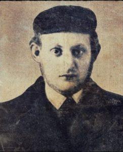 יצחק בשביס זינגר בנעוריו
