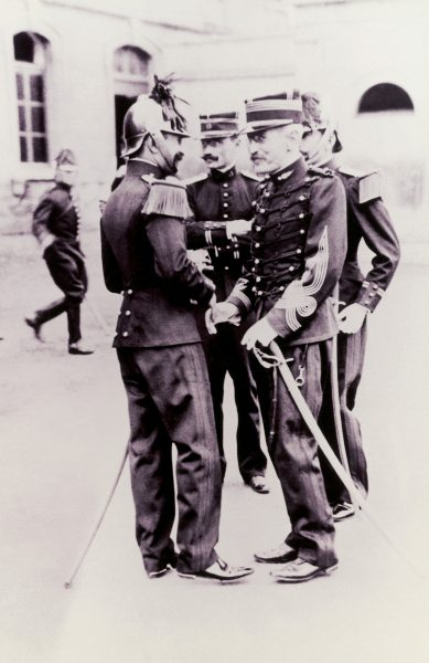 Alfred Dreyfus at his Rehabilitation Ceremony