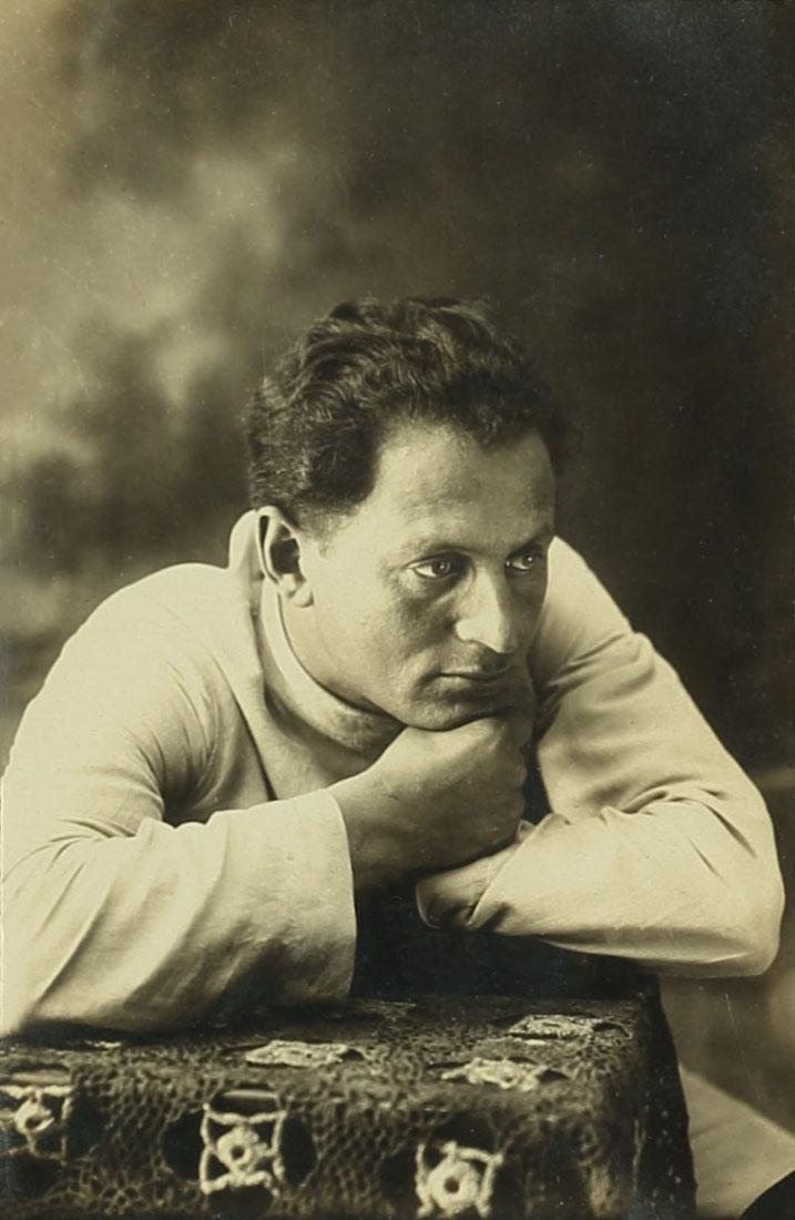 אברהם מלניקוב בירושלים, 1922. צלם בלתי ידוע. ארכיון אברהם מלניקוב,  ARC. 4* 1956 03 49