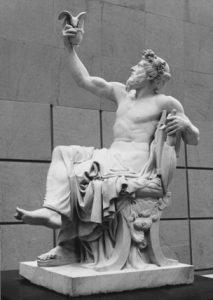 אנקראון. פסלו של ז'ן-באטיס קלוד יוג'ין גווילאומה