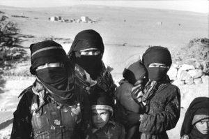 Beit Sinan, Arhab, Yemen, 1983, photo by Myriam Tangi.