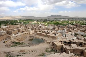 The Afghan city of Ghazni, as it appeared in 2010, a thousand years after the writing of Yair's letter. Photo by Tech. Sgt. James May, U.S. Air Force.
