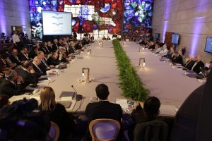 The Global Forum of the National Library of Israel, photo: Hanan Cohen, the National Library of Israel