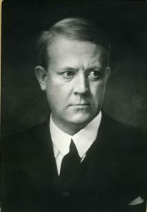 Vidkun Quisling, founder of the Nasjonal Samling party, whose name has become synonymous with the word 'traitor'. Photo: the National Archives of Norway.
