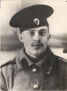 אחיו של טשרניחובסקי במדי הצבא הרוסי