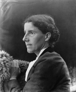 שרלוט גילמן פרקינס (צילום מארכיון ספריית הקונגרס האמריקנית)