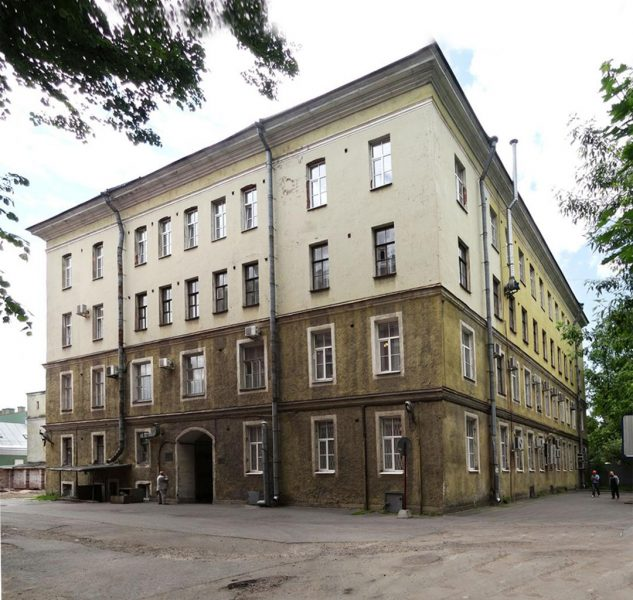 Dorms for the students of Saint Petersburg University constructed by Samuil Poliakov