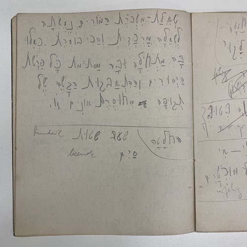 Kafka documents the teachers' strike in Mandatory Palestine in November 1922, the National Library collections