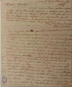 من رسالة توماس كوربيت