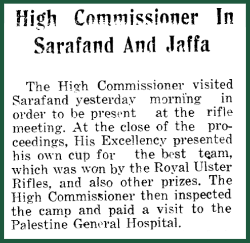 The Palestine Post,10.9.1933