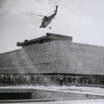 היה צריך אפילו מסוק: כך נבנתה הספרייה הלאומית בקמפוס גבעת רם