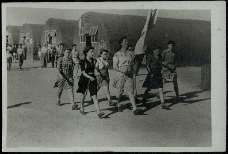 """מִפקד הפתיחה של מחנה """"בני עקיבא"""", מסירת המפקד והתהלוכה"""