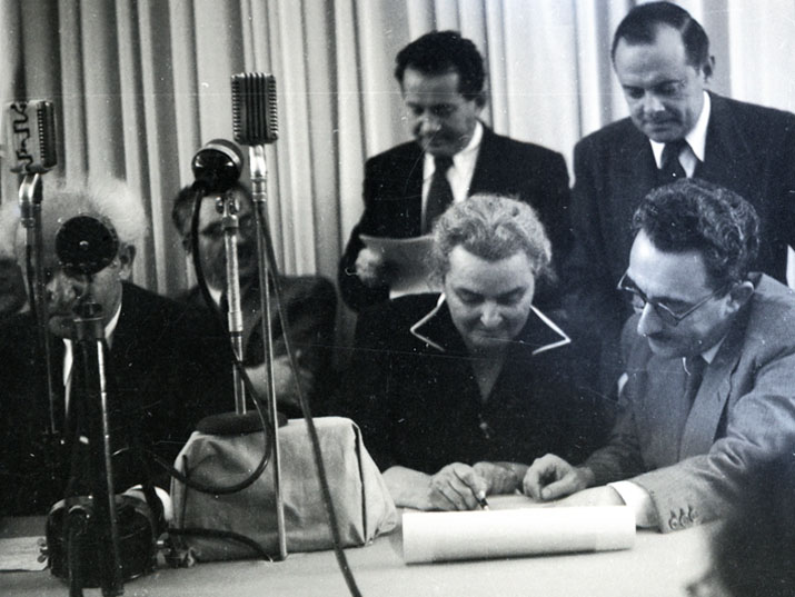 The First Woman to Sign Israel's Declaration of Independence