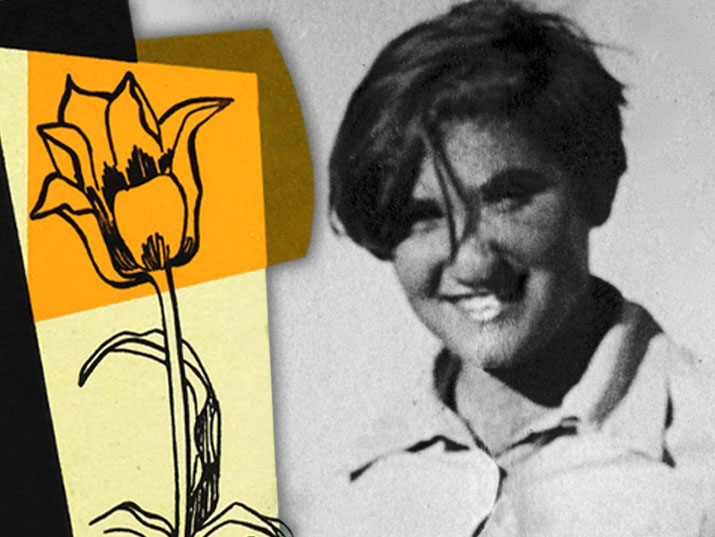 The Unsung Heroine-Artist Who Helped Save Israel's Wildflowers