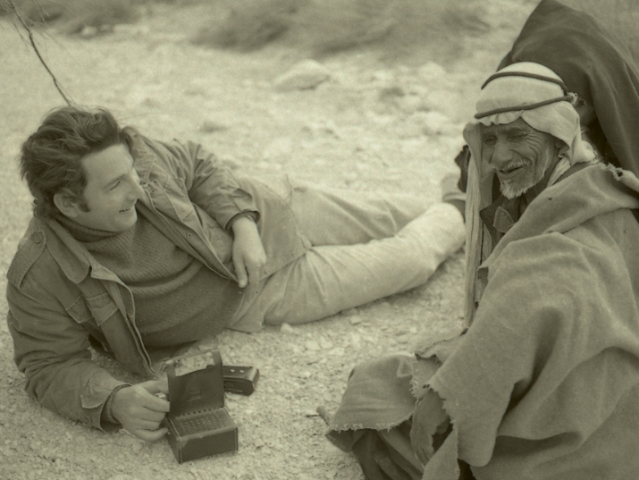 The Clinton Bailey Archive of Bedouin Culture Comes to the National Library of Israel