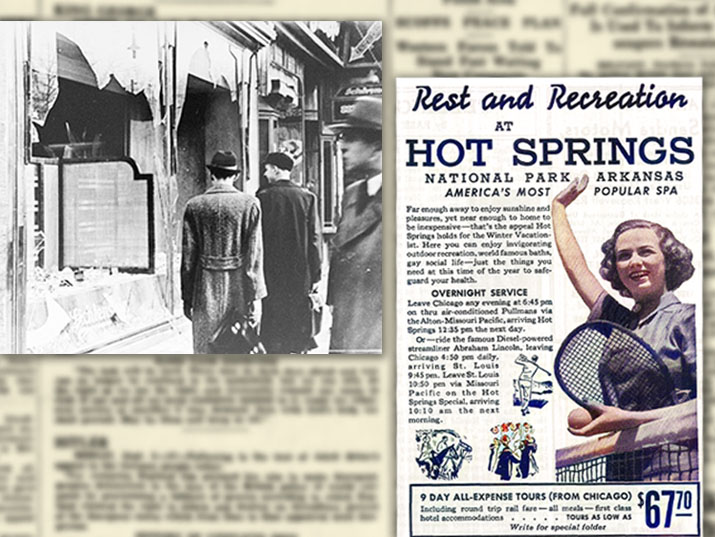 Reporting the Holocaust Alongside Vacation Ads