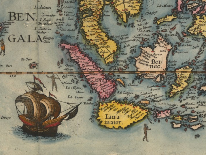 The Age of Discovery as Reflected in Antique Maps