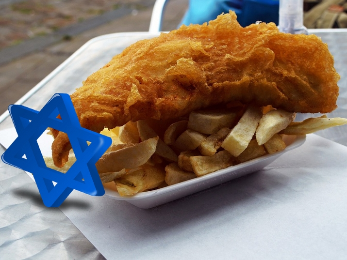Is Fish and Chips a Jewish Delicacy?