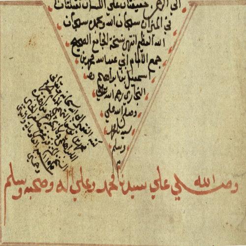 نسخة عن صحيح البخاري كُتبت في الحرم الإبراهيميّ في الخليل، 1739.