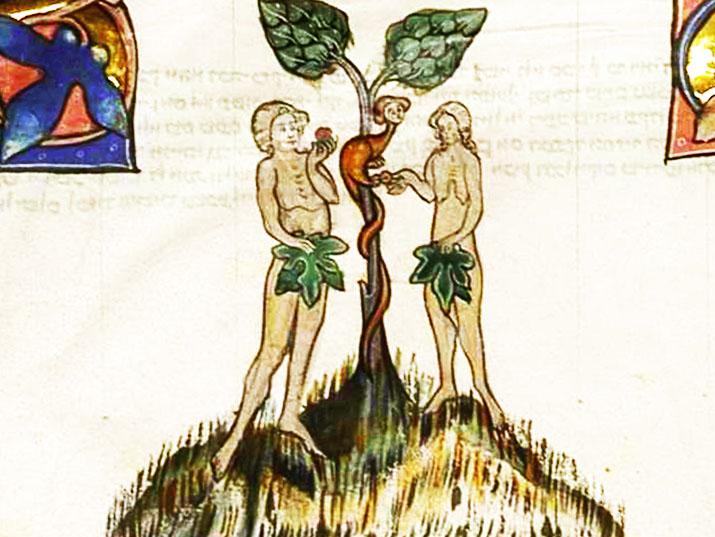 הצצה לגן עדן: מה מלמדים איורים עתיקים על אדם וחוה?