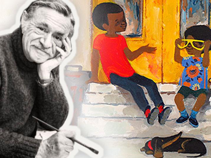 הסופר היהודי שאייר את גיבור הילדים האפרו-אמריקאי האהוב